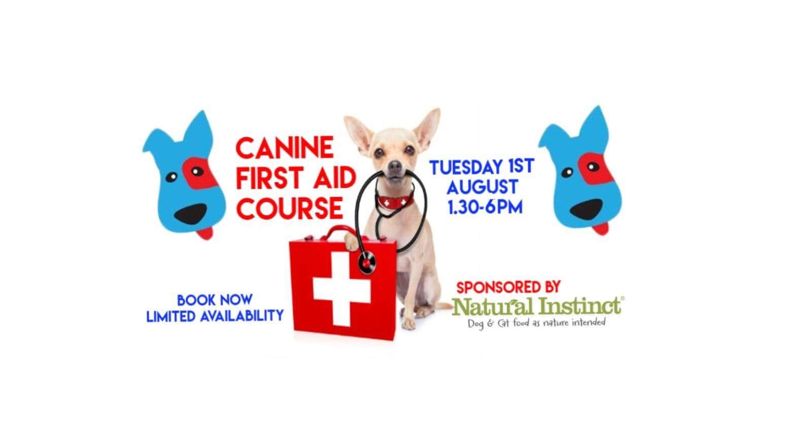 First Aid For Dogs Book Uk